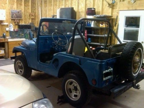 1955 Willys M38A1 Blue