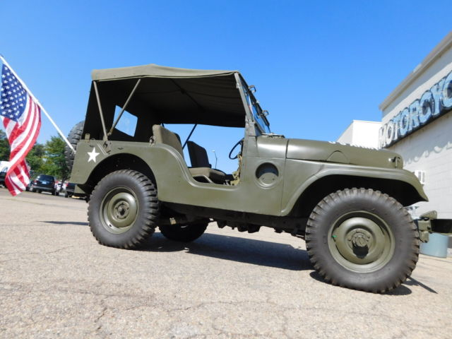 1955 Willys Custom Military