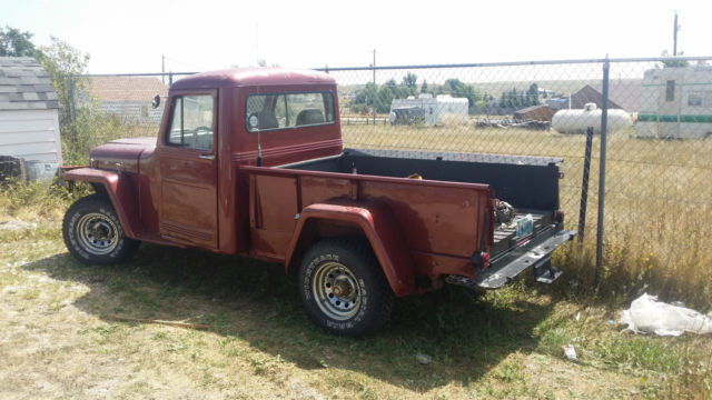 1955 Willys Willy pickup