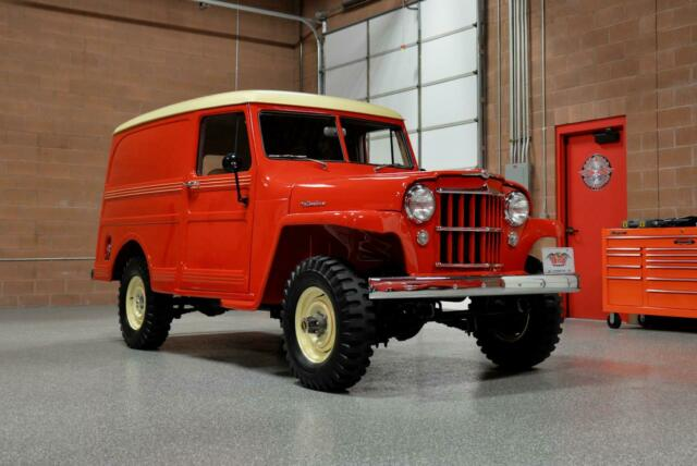 1955 Willys Sedan Delivery Wagon 4x4 --