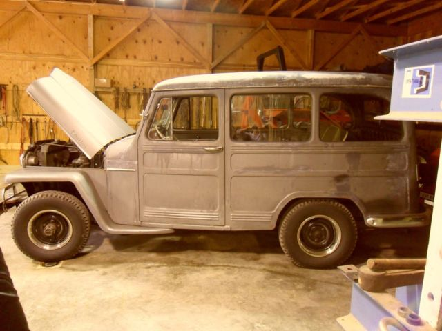 1955 Willys wagon station wagon