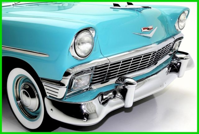 1956 Chevrolet 210 Aqua Blue & White 265 V8