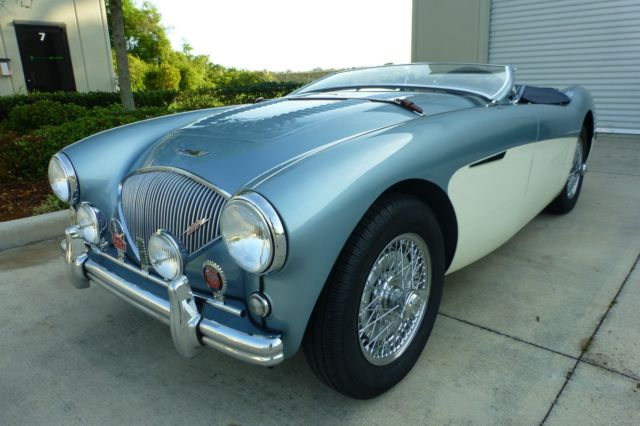 1956 Austin Healey Factory 100  Le Mans 1 of 640 Produced
