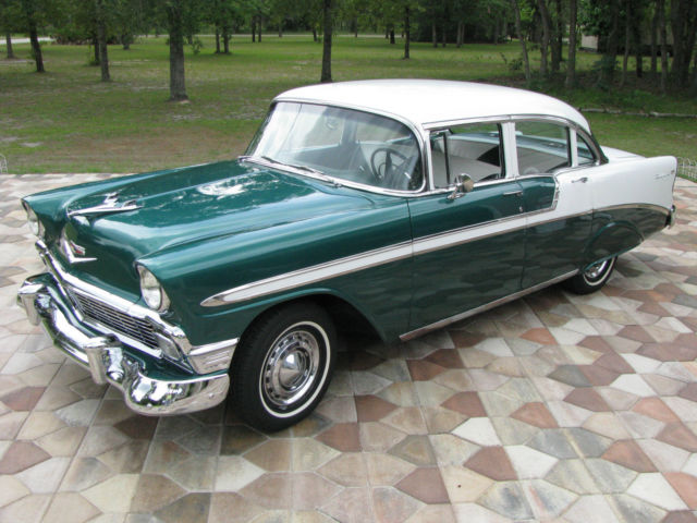 1956 Chevrolet Bel Air/150/210 4 Door Sedan