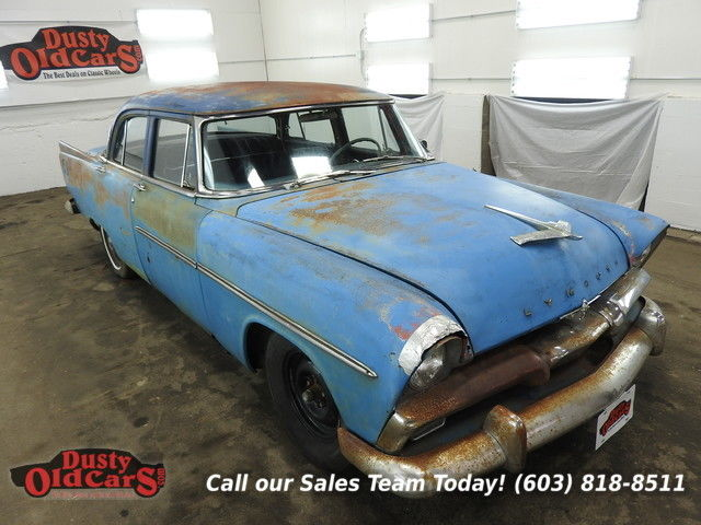 1956 Plymouth Savoy Good Project or Parts, Running I6 2 spd auto