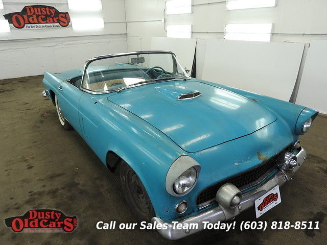 1956 Ford Thunderbird Project Car 312V8 3spd auto Body Inter Fari