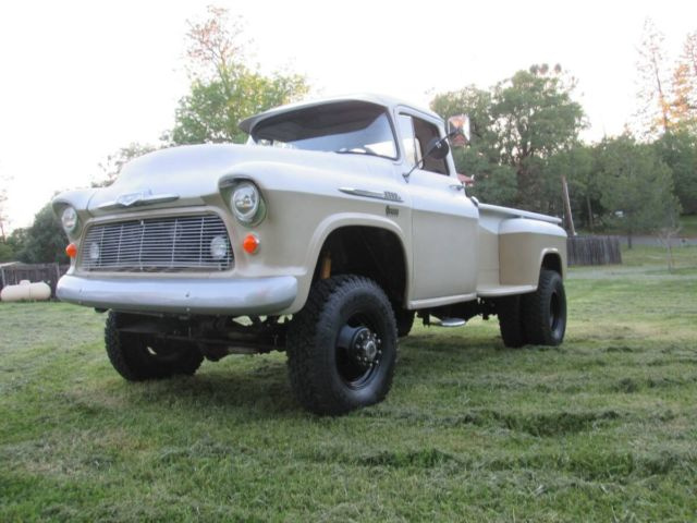 1956 Chevrolet 4x4 Stepside Dually Cummins Turbo Diesel