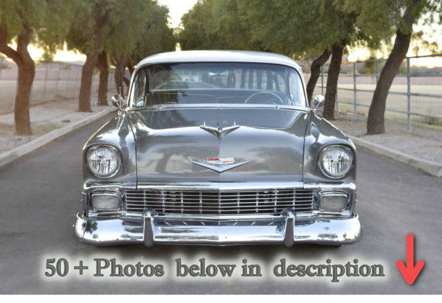 1956 Chevrolet Bel Air/150/210 Base Hardtop 2-Door