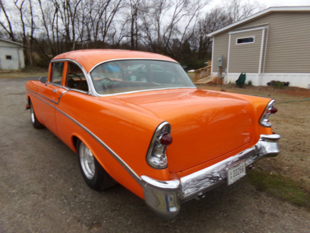 1956 Chevrolet Bel Air/150/210 Base Sedan 2-Door