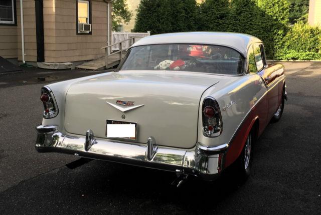 1956 chevrolet bel air hardtop 2 door small block 350 4 for 1956 chevy belair 4 door hardtop for sale