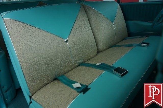 Phenomenal 1956 Chevrolet Bel Air Hardtop 8079 Miles Tropical Turquoise Beutiful Home Inspiration Semekurdistantinfo