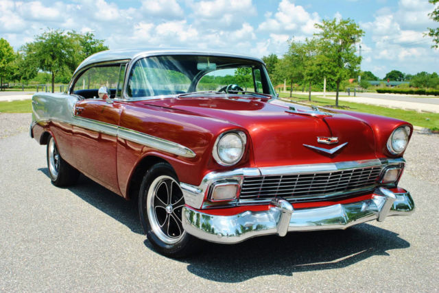 1956 Chevrolet Bel Air/150/210 Hardtop Gorgeous Restored Classic 350 V8