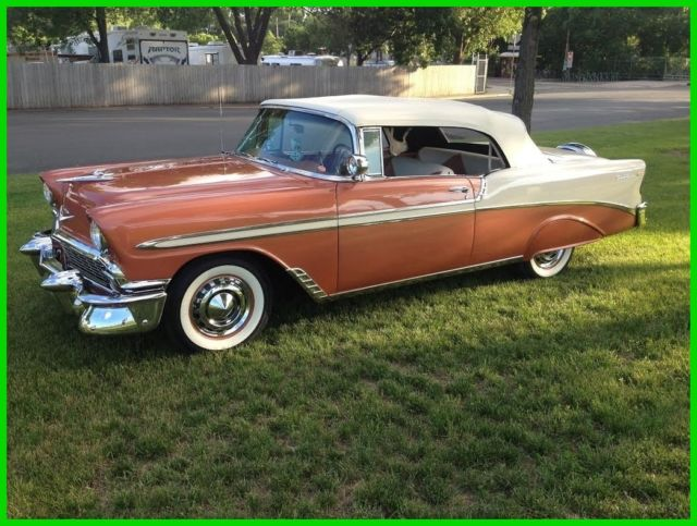 1956 chevrolet bel air used automatic convertible 39 56 57401 for sale photos technical. Black Bedroom Furniture Sets. Home Design Ideas