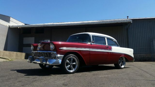 1956 Chevrolet Bel Air/150/210 2 Door Post