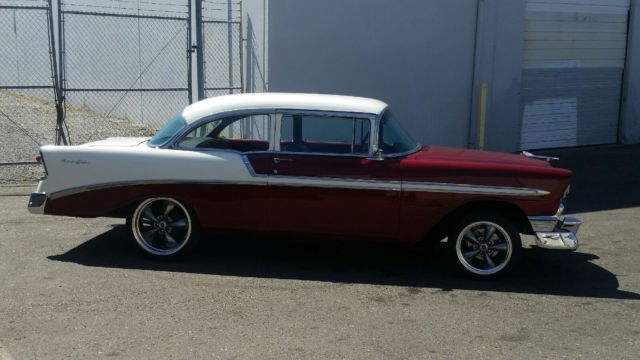 1956 chevrolet belair 2 door sedan post 4 speed and crate for 1956 chevy belair 4 door for sale