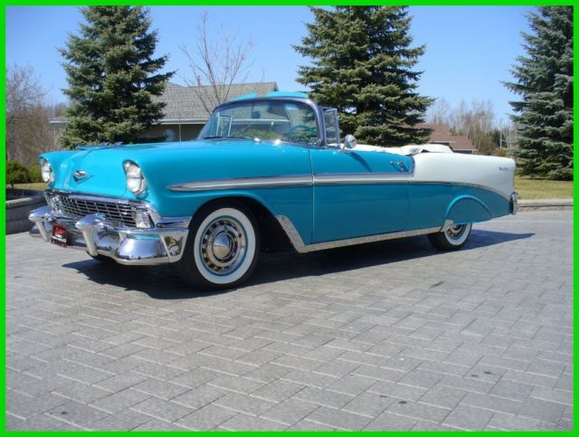 1956 chevrolet belair convertible for sale photos technical specifications description. Black Bedroom Furniture Sets. Home Design Ideas