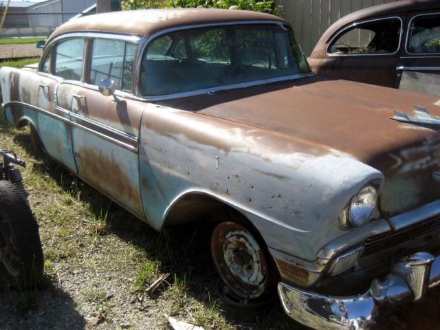 1956 chevrolet belair 4 door sedan restoration clean title for 1956 chevy belair 4 door for sale
