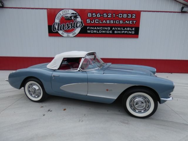 1956 Chevrolet Corvette C1 Convertible 350 V8 4 Spd Financing