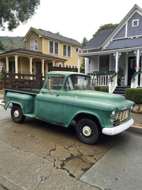 1956 Chevrolet Pickup, California Truck, Half Ton,Short ...