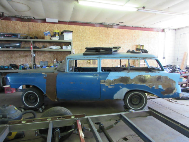 1956 Chevrolet Bel Air/150/210 210 2-dr wagon