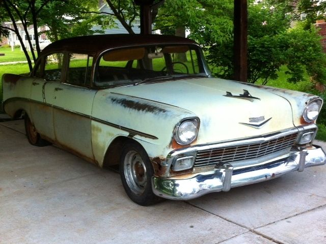 1956 chevy 210 4 door sedan for sale photos technical for 1956 chevy 4 door