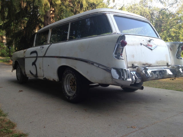 56 Chevy 210 Project For Sale | Autos Post