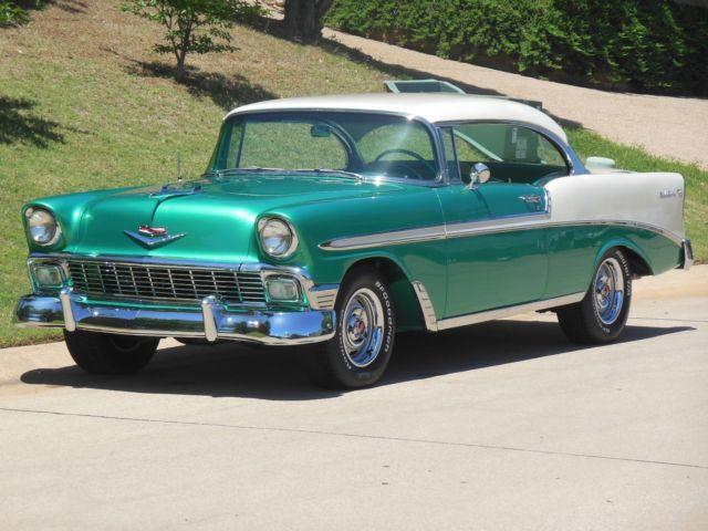1956 chevy bel air 2 door hardtop frame off restomod gotta for 1956 chevy belair 4 door hardtop for sale