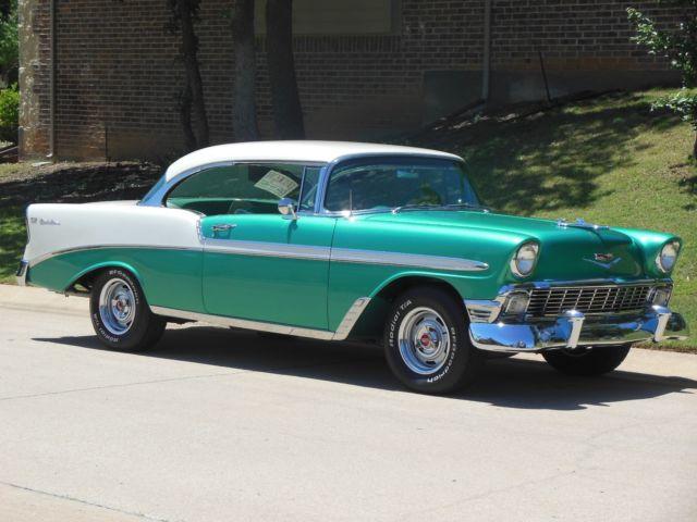 1956 chevy bel air 2 door hardtop frame off restomod gotta for 1956 chevy 2 door hardtop for sale