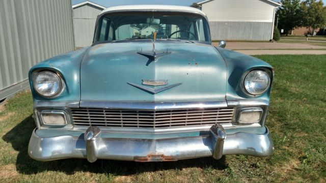1956 Chevrolet Bel Air/150/210 Base Car Radio Delete
