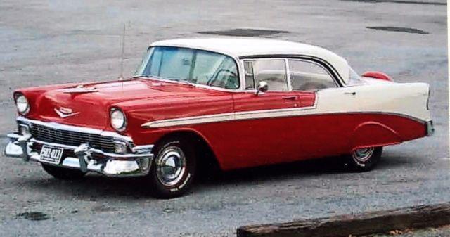 1956 Chevy Bel Air 4 Door Hardtop For Sale Photos Technical