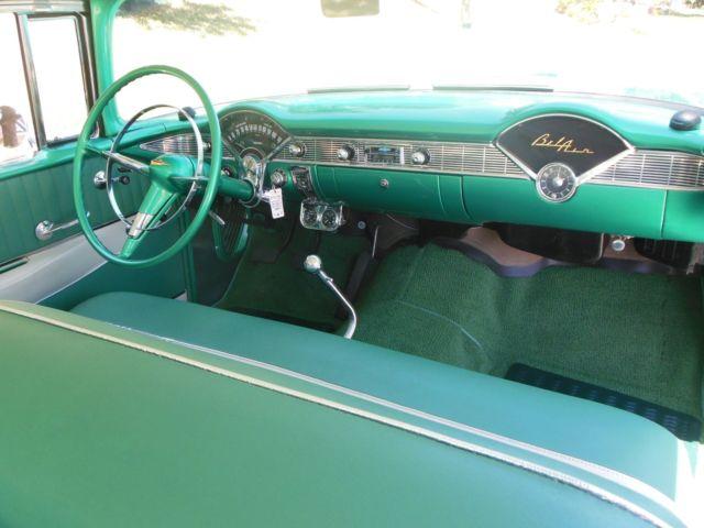1956 Chevy Belair 2 Door Hardtop Professional Level Build