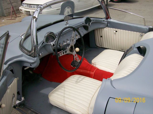 1956 chevy corvette convertible roadster for sale photos technical specifications description. Black Bedroom Furniture Sets. Home Design Ideas