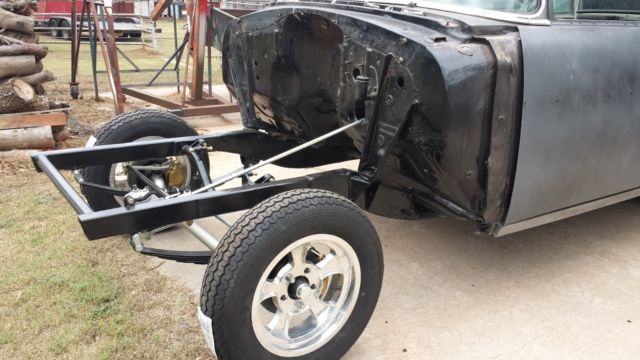 1956 chevy new build gasser 2dr post injected 302 5 speed doug nash