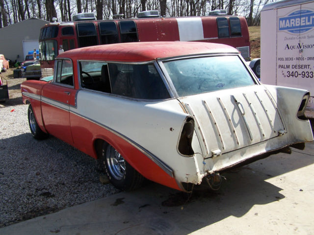 1956 Chevy Nomad Belair 1955 1957 62 Rod Wagon For Sale