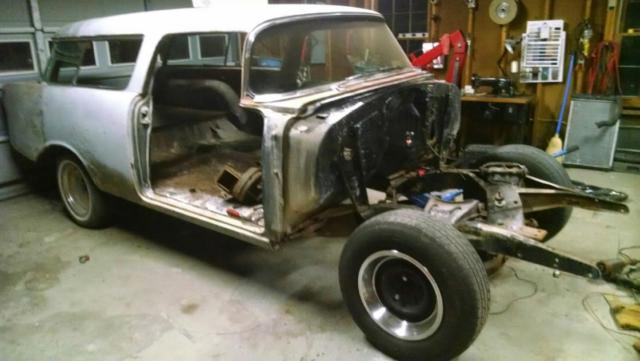 1956 chevy nomad project for sale photos technical specifications description. Black Bedroom Furniture Sets. Home Design Ideas