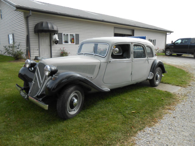 1956 Citroën Traction Avant 11B   4-Door Sedan