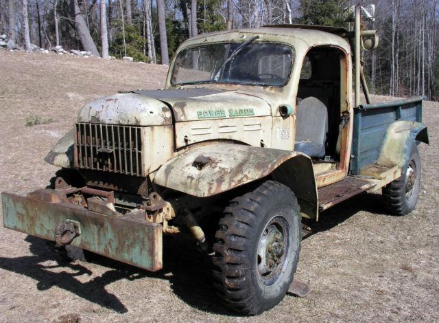 1956 Civilian Dodge Power Wagon C 4 As Found Low Miles Restoration Project