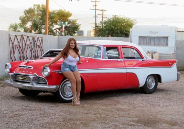 Tucson Car Auction >> 1956 DeSoto Firedome Chrysler 354 Hemi V8 auto solid AZ ...