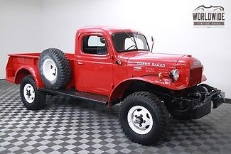 1956 Dodge Power Wagon RARE C3 45,602 ORIGINAL MILES!