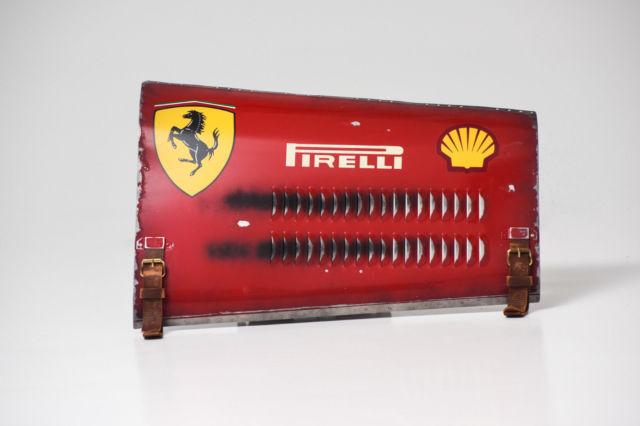 1956 Ferrari Grand Prix Race Car Inspired Hood Panel Wall Art By Darren Hall For Sale Photos Technical Specifications Description