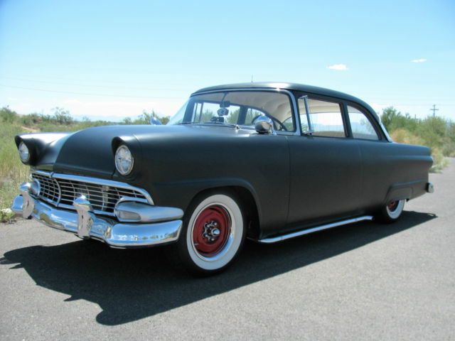 1956 ford customline 2 door sedan mild custom for sale