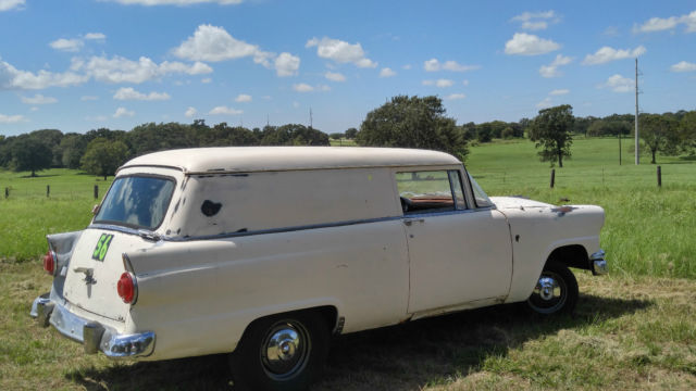 1956 Ford COURIER DELIVERY SEDAN