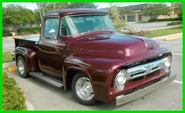 1956 Ford F-100 Restored Modified Driver Truck