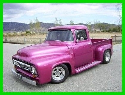 1956 Ford F-100 Custom Total Frame Off Restoration, California Tru