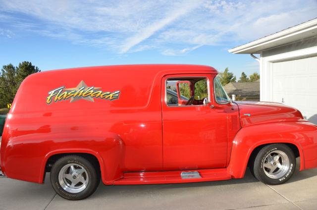 1956 Ford F 100 Quot Custom Quot Panel Truck Award Winnig Custom