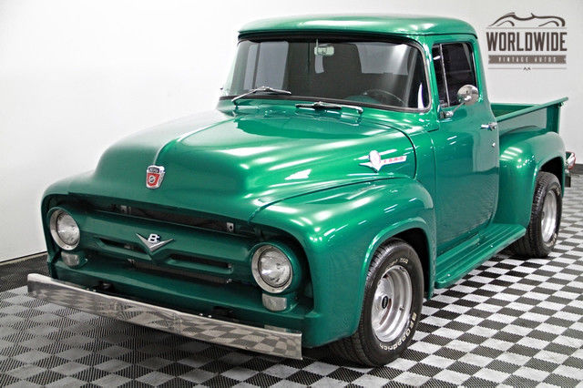 1956 Ford F100 351W V8! C6 Auto! Dual Glass Packs!