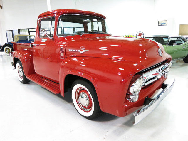 1956 ford f100 custom cab pick up rare big back window for 1956 ford big window