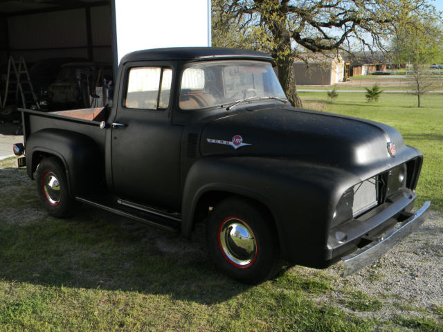 1956 ford f100 pickup truck hot rat rod project 460 c6 lots of new parts for sale photos. Black Bedroom Furniture Sets. Home Design Ideas