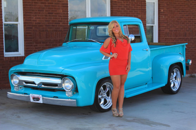 1956 Ford F100 Power Steering PDB AC V8 Overdrive Trans ...