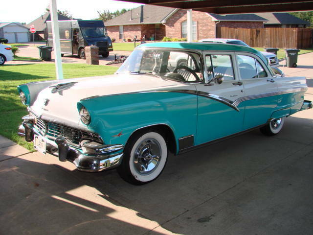 1956 ford fairlane town sedan street rod
